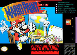 Mario Paint Super Nintend...