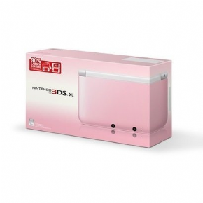 Nintendo 3DS XL Rosa + 3...