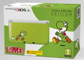 Foto Nintendo 3DS XL - Yoshis Limited Edition Destravado (Seminovo)