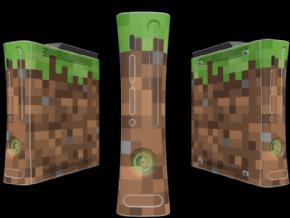 Adesivo Minecraft XBOX360