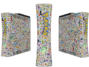Adesivo Pokemon XBOX360