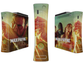 Adesivo Max Payne XBOX360