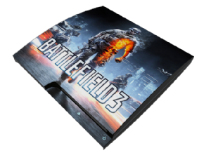 Foto Adesivo Battlefield 3 PS3 SLIM