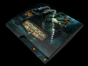 Adesivo Bioshock PS3 SLIM