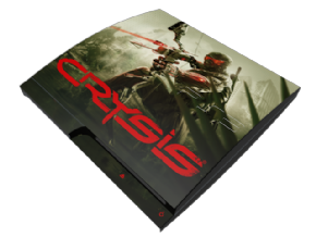 Adesivo Crysis PS3 SLIM