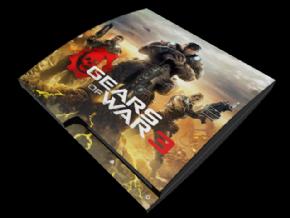 Adesivo Gears PS3 SLIM