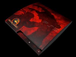 Adesivo Mortal Kombat PS3...