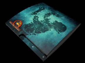 Foto Adesivo Mortal Kombat PS3 SLIM