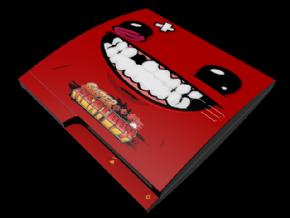 Adesivo Meat Boy PS3 SLIM