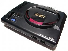 Mega Drive I 16-BIT Na Ca...