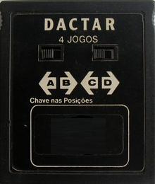 Dactar 4 Jogos (Seminovo)...