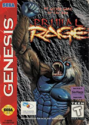 Foto Primal Rage (Seminovo) Mega Drive