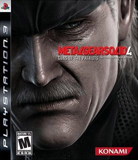 Metal Gear Solid 4 PS3 -...