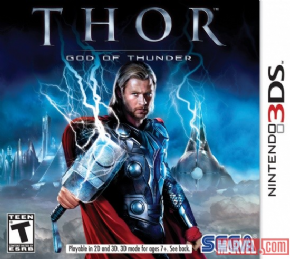 Thor God of Thunder 3DS