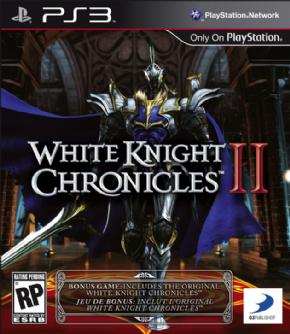 Foto White Knight Chronicles 2 + Bônus White Knight 1 (Seminovo) PS3