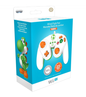 Foto Wired Fight Pad Wii U - Yoshi