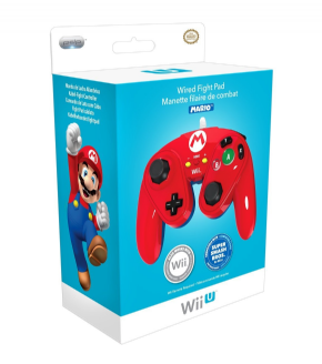 Wired Fight Pad Wii U - M...