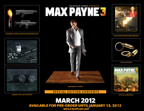 Foto Max Payne 3 Special Edition PS3