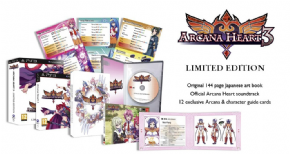 Arcana Heart 3 Limited Ed...