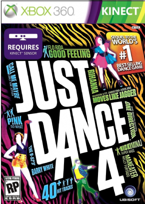 Just Dance 4  XBOX360