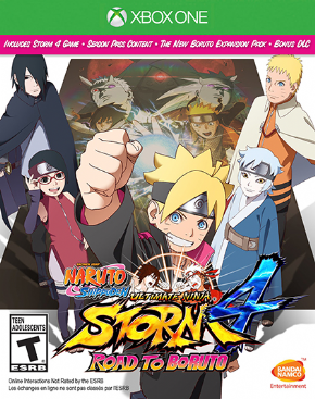 Foto Naruto Shippuden: Ultimate Ninja Storm 4 Road to Boruto XBOX ONE - Seminovo