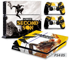 Adesivo 05 - PS4
