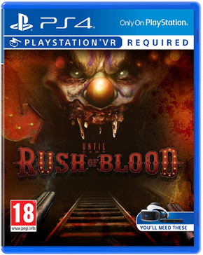 Until Dawn Rush of Blood Playstation VR...
