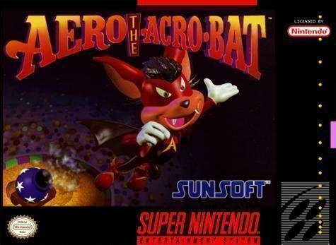 Aero Acrobat Super Ninten...