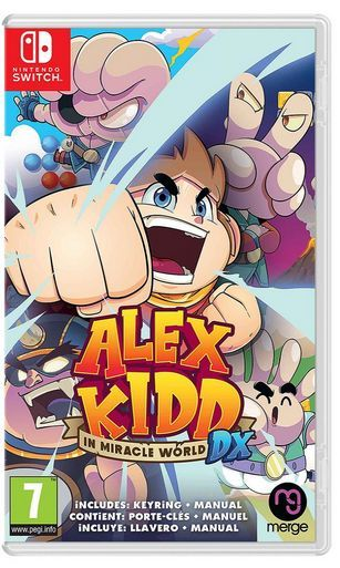 Alex Kidd in Miracle World DX Nintendo S...