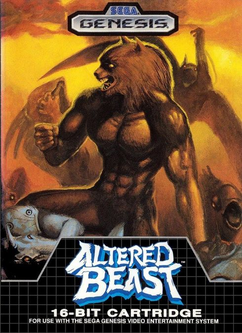 Altered Beast Mega Drive...