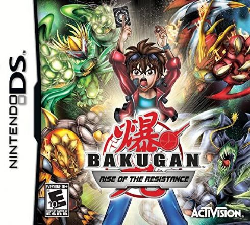 Foto Bakugan Rise Of The Resistance Nintendo Ds - Seminovo