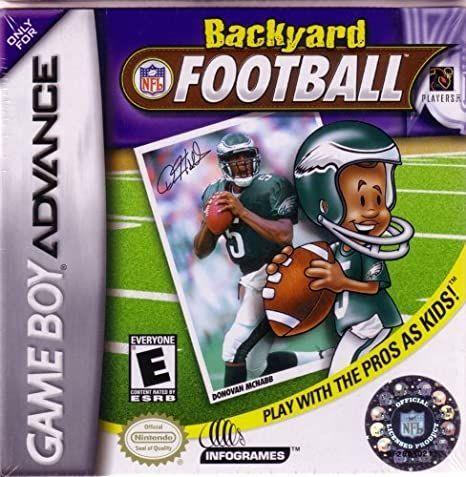 Bakyard Football Game Boy...