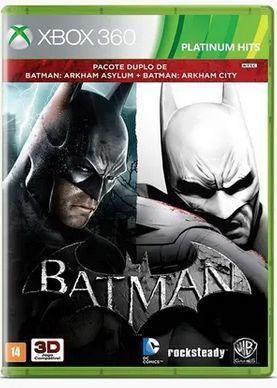 Batman: Arkham City Pacote Duplo XBOX 36...