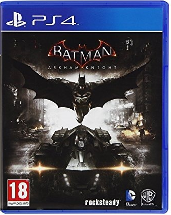 Foto Batman Arkhan Knight PS4 - Seminovo