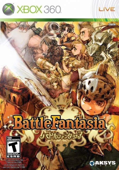 Battle Fantasia XBOX 360...