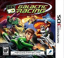 Ben 10  Galactic Racing (...