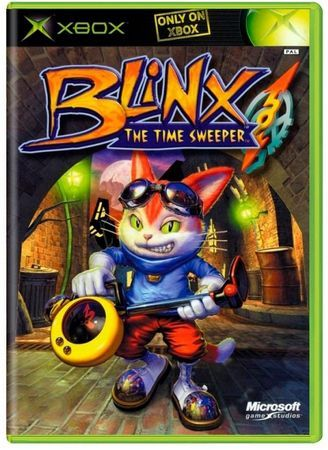 Blinx The Time Sweeper XBOX - Seminovo