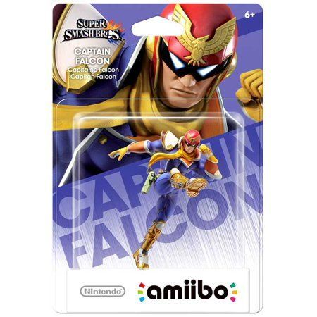 Foto Captain Falcon Smash - amiibo - Seminovo