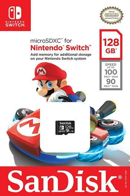 Cartão Micro Sdxc 128GB N...