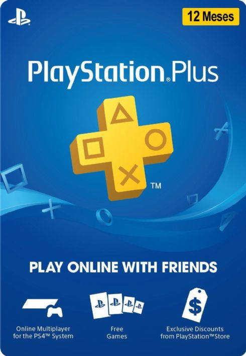 Cartão Playstation Plus 1...