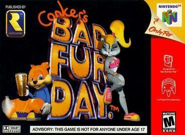 Conker's Bad Fur Day Nint...