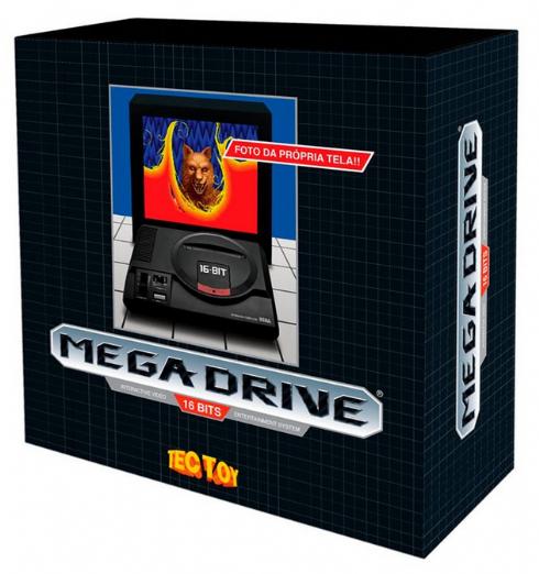 Console Tectoy Sega Mega...