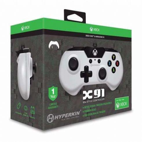Controle Hyperkin X91 Branco Para Xbox O...