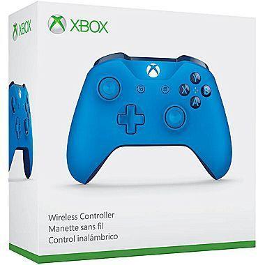Controle Microsoft ONE S Azul Bluetooth...
