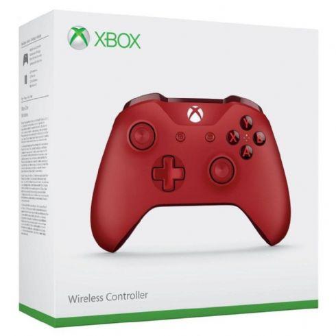 Controle Microsoft ONE S Vermelho Blueto...
