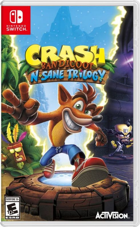 Foto Crash Bandicoot N.Trilogy Nintendo Switch - Seminovo