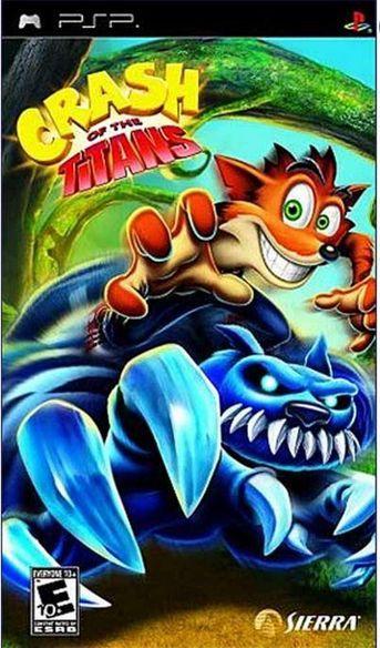 Crash of The Titans PSP - Seminovo