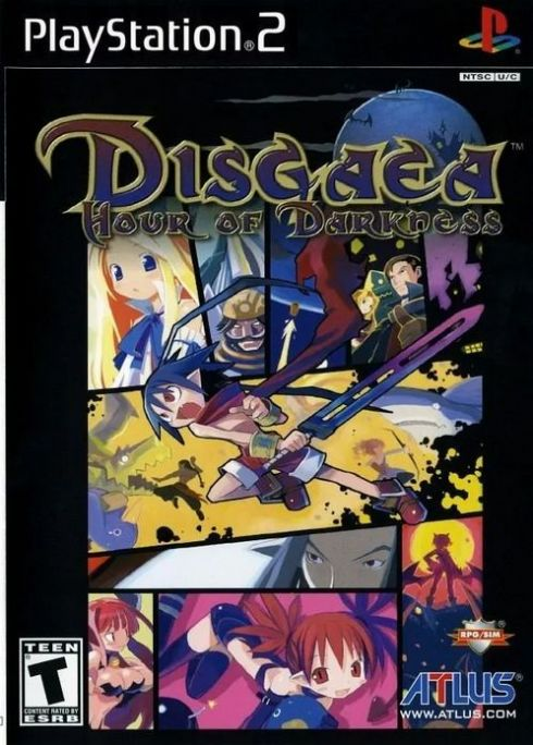 Disgaea Hour Of Darkness PS2 - Seminovo