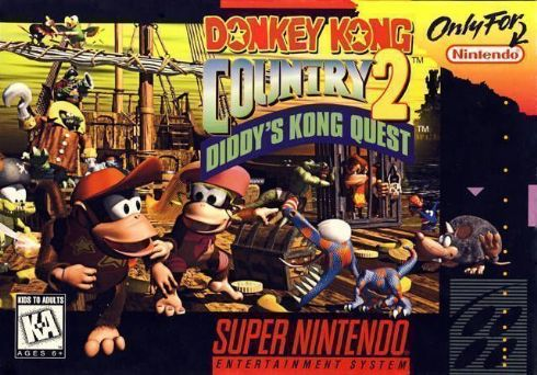 Donkey Kong Country 2 Sup...
