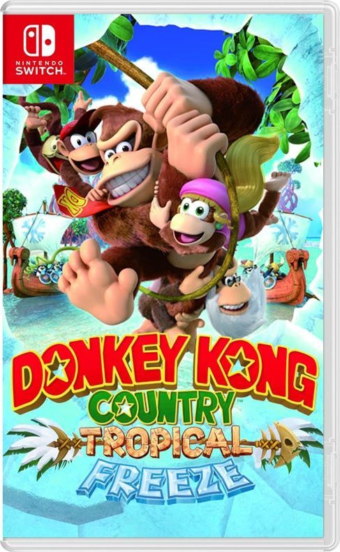 Foto Donkey Kong Country Tropical Freeze Nintendo Switch